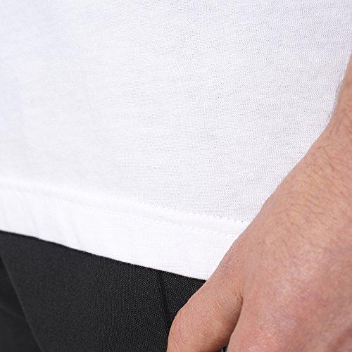 adidas Originals Men's Trefoil Tee, Medium, White