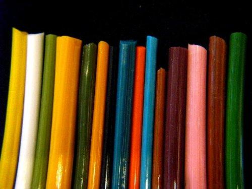 Devardi Glass Boro Rods, COE 33, Mixed Colors, 1 lb by Devardi Glass