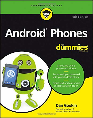 Android Phones For Dummies (For Dummies (Lifestyle)) (Best Tablet 2019 For Reading)