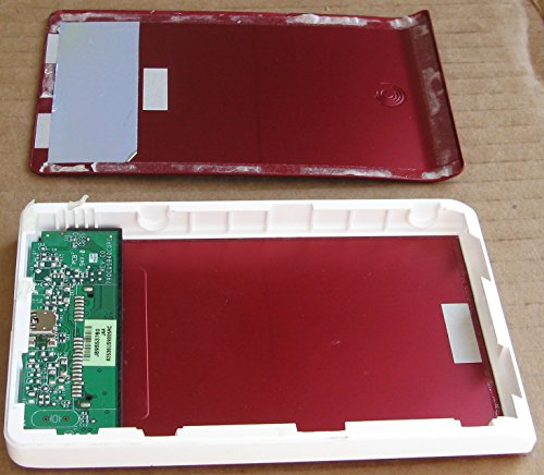 Price comparison product image Seagate FreeAgent Go Desk Dummy Non Functional External Hard Drive Case - Red - NO HARD DRIVE,  No Circuits - FOR DISPLAY PURPOSES ONLY