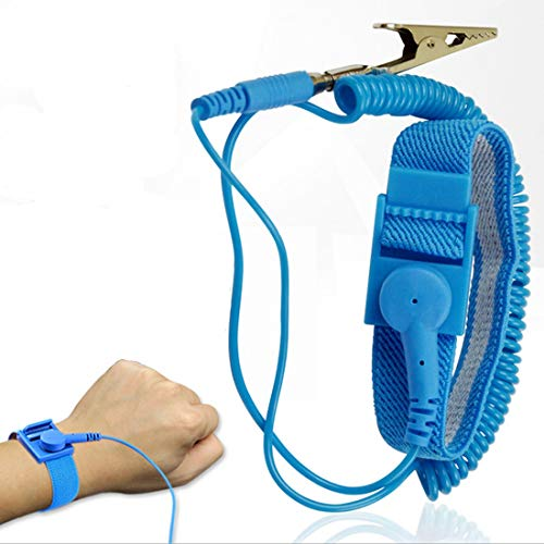 Electronic Repair - Anti Static Wrist Strap Elastic Band With Clip Repair Work - Repair Pstrap Electronic Machine Metal Tool Steel Complete Electric Tools Strapping Seals Work Sealer Tensioner