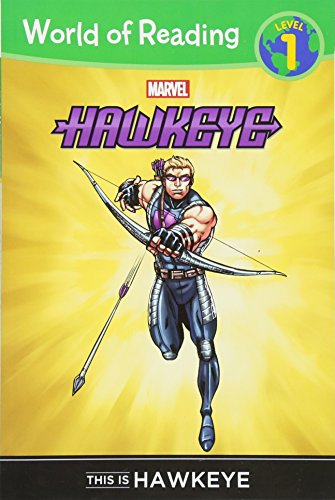 World of Reading: Hawkeye This is Hawkeye