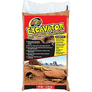 Zoo Med Excavator Clay Burrowing Substrate, 10 Pounds 47