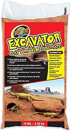 Zoo Med Excavator Clay Burrowing Substrat pour Reptile/Amphibien 4, 5 kg XR10