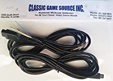 Two 8FT 9 Pin Replacement Cable Cord Wires to Repair Commodore Amiga CD32 Controller Joystick
