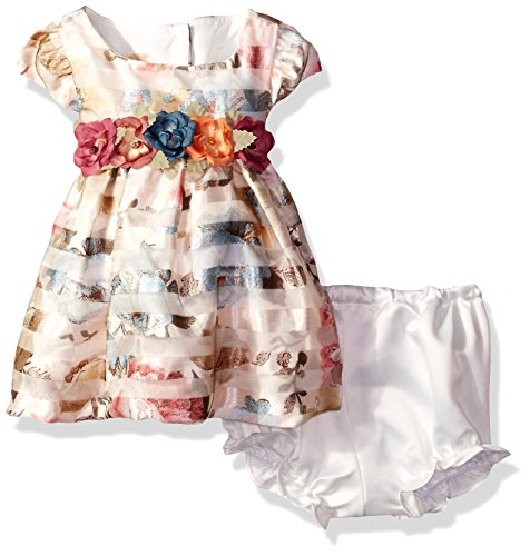 Laura Ashley London Baby Girls Floral Striped Dress Buy Online In