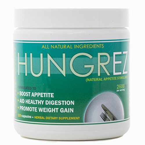 VH Nutrition | HungrEZ | Appetite Stimulant for Men and Women | Natural Weight Gain Pills - 30 Day Supply - 60 Capsules by VH Nutrition