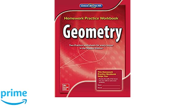 glencoe homework practice workbook geometry answer key