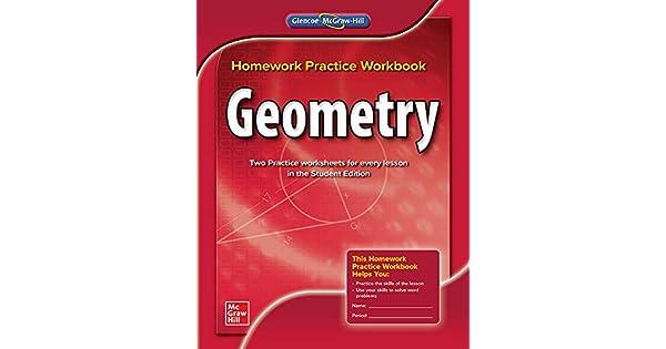 glencoe homework practice workbook geometry answers key