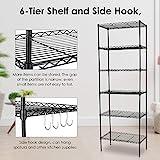 Devo 6-Tier Storage Shelves Unit