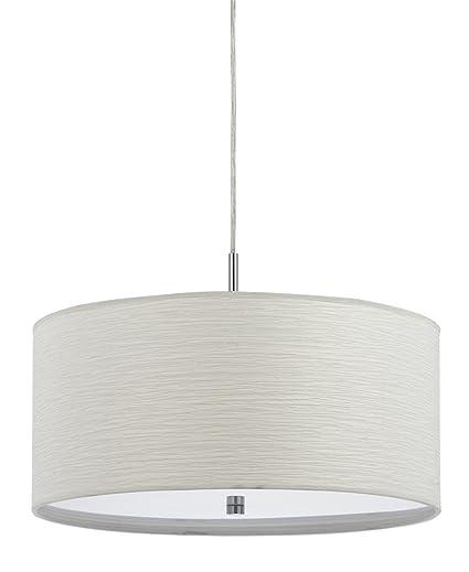 Cal lighting fx 35241p 100 watt nianda pendant fixture with fabric cal lighting fx 35241p 100 watt nianda pendant fixture with fabric shade aloadofball Images