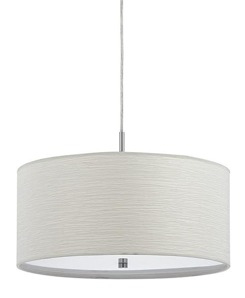 Cal lighting fx 35241p 100 watt nianda pendant fixture with cal lighting fx 35241p 100 watt nianda pendant fixture with fabric shade mozeypictures Choice Image