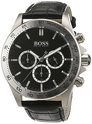 Hugo Boss 1513178 Chronograph Mens Watch - Black Dial