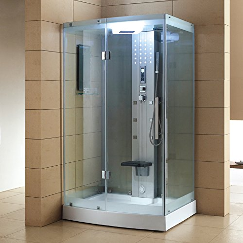 Cheapest Price! ARIEL WS-300 Steam Shower with Body Massage Jets