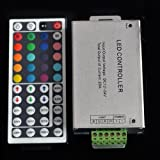 12V-24V DC 20A 240W 44Key IR Remote Controller for RGB LED Strip 5050 3528 SMD