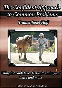 The Confident Approach to Common Problems:Using the confidence lesson to train your horse and mule