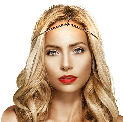 mia-triple-chain-headwraps-headwrap-for-women-rhinestones-mixed-silver-yellow-gold-rose-gold-colors