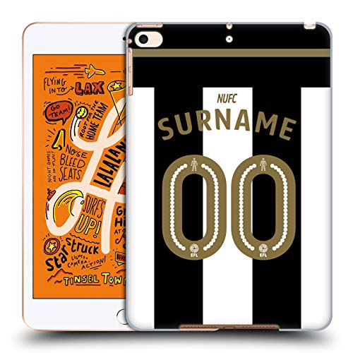 (Custom Customized Personalized Newcastle United FC NUFC Jersey 2016/17 Hard Back Case Compatible for iPad Mini (2019) )