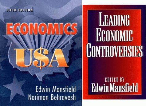 Economics U$A, Leading Economic Controversies of 1998