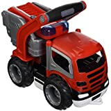 Wader Grip Fire Engine Toy for Kids, Durably Designed, This No-Noise Toy has a Ladder That Extends and Doors That Really Open