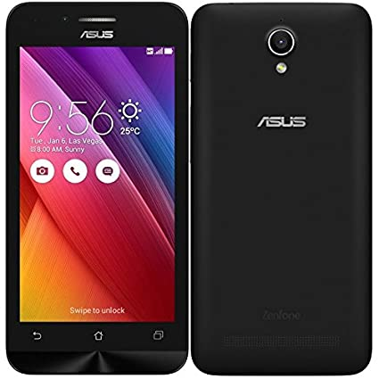 Asus Zenfone Go 4.5  Black, 8   GB  Smartphones available at Amazon for Rs.7100