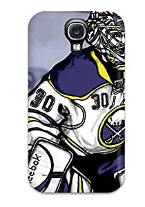New Fashionable ChrisPeters WjjnWqi1116AxbLU Cover Case Specially Made For Galaxy S4(buffalo Sabres (18))