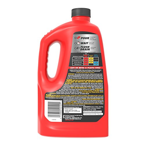Buy sc johnson drano max gel liquid clog remover 80 oz