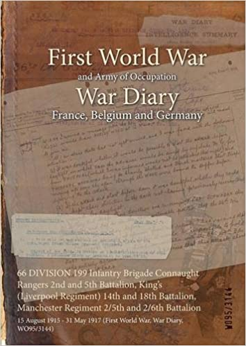 Book 66 Division 199 Infantry Brigade Connaught Rangers 2nd and 5th Battalion, King's (Liverpool Regiment) 14th and 18th Battalion, Manchester Regiment ... 1917 (First World War, War Diary, Wo95/3144)