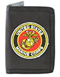 US Marine Corps Wallet Military Collectibles, Patriotic Gifts for Men, Women, Teens, Veterans Great Gift Idea for Wife, Husband, Relative, Boyfriend, Girlfriend, Grandparent, Fiance or Friend. Perfect Christmas Stocking Stuffer or Veterans Day Gift Idea.