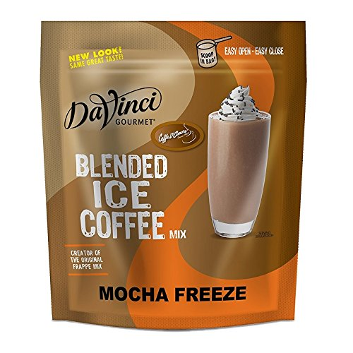 (Caffe D'Amore Frappe Freeze Mocha Coffee Mix- 3 Lbs Reclosable Bag )
