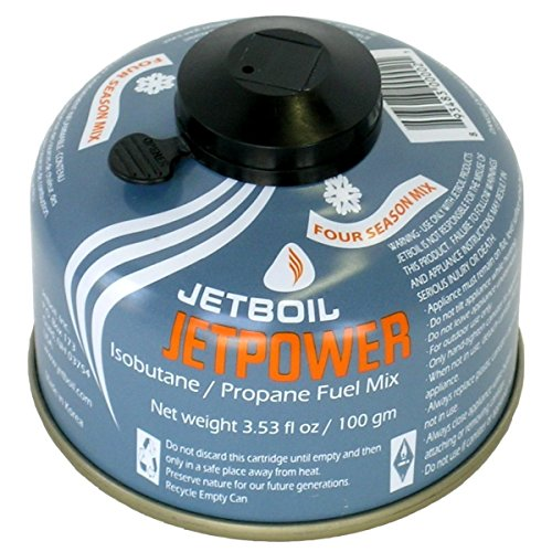 - JetBoil Jetpower Fuel - 100g, Blue
