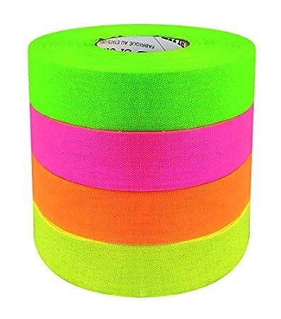 North American Tape Neon Color 24mm/27m Farbe:neon gelb