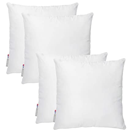 22x22 Pillow Insert Inspiration Amazon Pal Fabric Pack Of 60 Square Pillow Insert For Sham Or