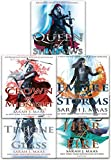 download ebook throne of glass series collection 5 books set by sarah j. maas (throne of glass, crown of midnight, heir of fire, empire of storms, queen of shadows) pdf epub