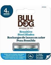 Bulldog Skincare Sensitive Skin Razor Blade Refills for Men, 4 Count