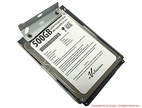 Super Thin Hard Disk HDD with Bracket for 500GB Playstation 3 - 1