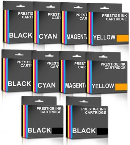 Prestige Cartridge 10 x Compatible LC-123 Cartuchos de Tinta para ...