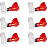 Yardwe 10Pcs Automatic Chicken Waterer Poultry Nipple Drinker Feeders Pigeon Chicken Drinking Bowl for 15mm Water Tube (Red)