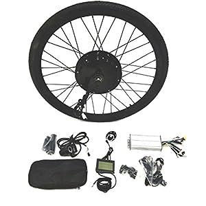 48V1500W Hub Motor Ebike Kit Conversione Bici Elettrica + LCD+ Tire Theebikemotor