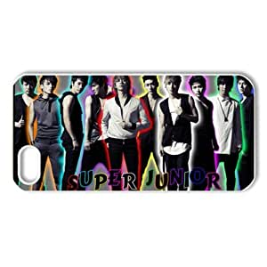 ByHeart korean popular band super junior Hard Back Case Shell Cover Skin for Apple iPhone 5 - 1 Pack - Retail Packaging - 5--1716
