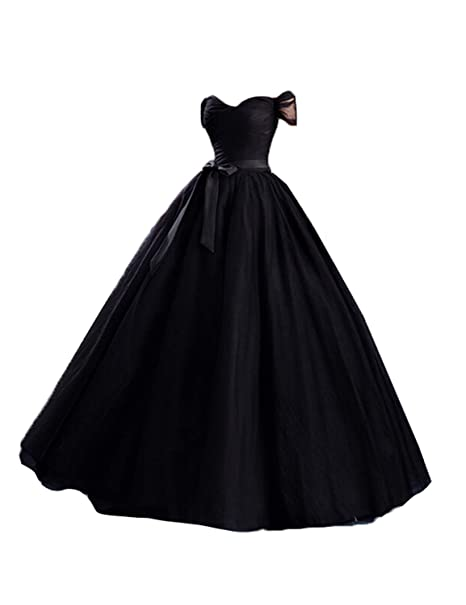 Tulle Off Shoulder Long Evening Gowns Weddings Plus Size ...
