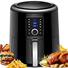 Air Fryer, OMORC 5.5L Oil Free Electric Air Fryer Cooker, 7 Cook Presets
