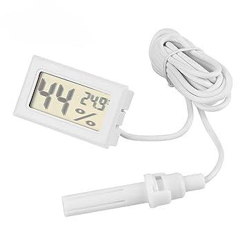 Mini Digital LCD Temperatur Kühlschrank Aquarium Tank Thermometer Mit Sonde