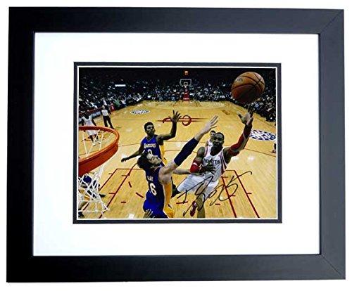 Dwight Howard Signed - Autographed Houston Rockets 8x10 inch Photo BLACK CUSTOM FRAME ()