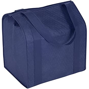 Hannah Insulated Shopping Bag, Navy