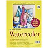 Strathmore STR-361-9 Watercolor Class (24 Pack), 9 by 12