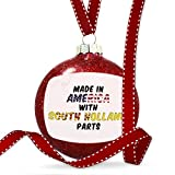 Christmas Decoration Made in America with Parts from South Holland Ornament