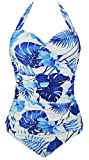 Search : Cocoship Women's 50s Retro Floral Swimsuit Ruching One Piece Vintage Swimwear Pin Up Monokinis(FBA)