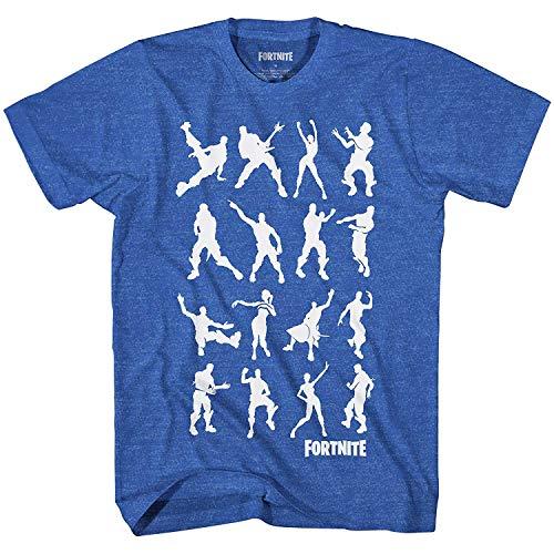 Licensed Mens Tee - Fortnite Dance Dance Adult Game Men's T-Shirt (Black,X-Large)