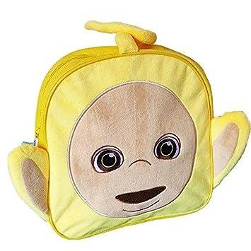Teletubbies Laa Laa Head Soft Plush Backpack  Amazon.co.uk  Toys   Games 9ccab15cb8